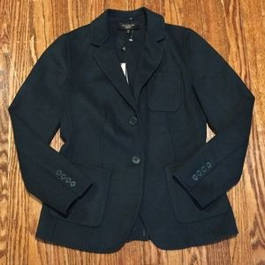 NWT Talbots Wool Grace Evergreen Blazer 6P